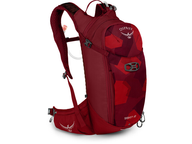 Osprey Siskin 12 Sac à dos d'hydratation Homme, molten red